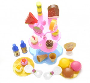 Sweet Treats Ice Cream and Desserts Tower Playset