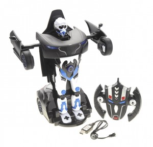 1:14 RS Transformer 2.4G Robot Car (Black)