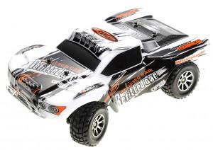 1:18 RC 2.4Gh 4WD Remote Control Short Course Truck (Silver)