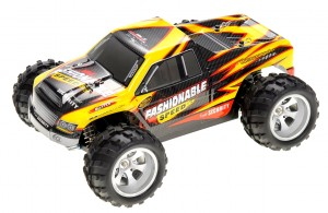 1:18 RC 2.4Gh 4WD Remote Control Off-Road Truck (Yellow)