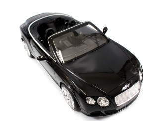1:12 RC Bentley Continental GT Convertible (Black)