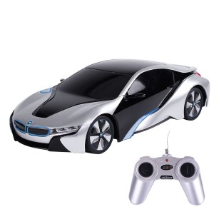 1:24 RC BMW i8 Concept RC Sports Car (Silver)