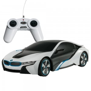 1:24 RC BMW i8 Concept RC Sports Car (White)
