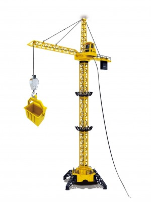 "50"" Tall Wired RC Crawler Crane with Tower Light and Adjustable Height"