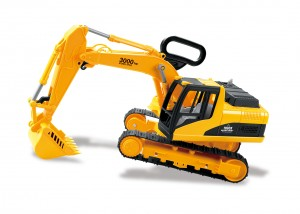 Construction Excavator Truck Toy With Shovel Arm Claw Handle For Kids