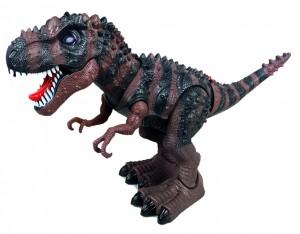 Walking T-Rex Dinosaur Toy (Brown)