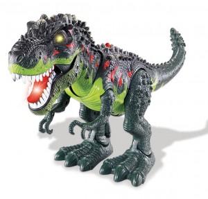 Walking T-Rex Dinosaur Toy (Green)