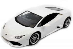1/14 Scale Lamborghini Huracán LP 610-4 Radio Remote Control Model Car R/C RTR (White)