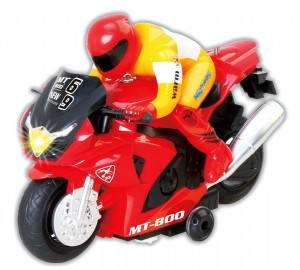 R/C Radio Control Motorcycle Car Toy Red