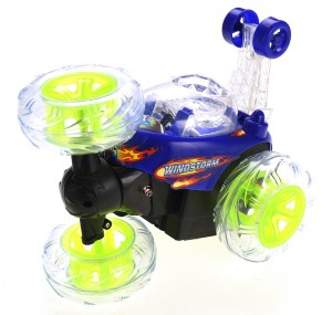 Invincible Twister - Remote Control Car w/ Flashing Lights
