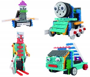 Build Your Own Remote Control Robot Toy (370pcs) -Robot Kit For Kids-