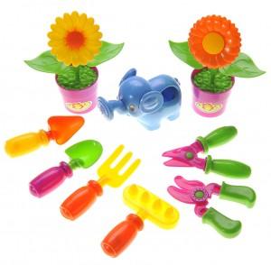 Gardening Tools Playset for Kids