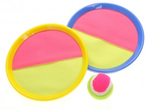 Velcro Toss And Catch Sports Game