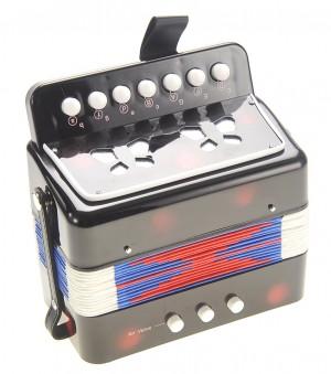 Children's Musical Instrument Accordion Black