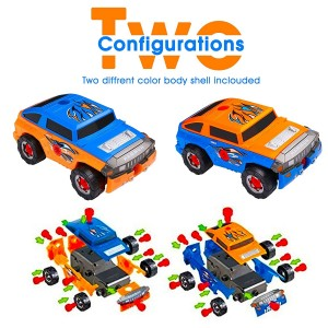 Build Your Vehicle Racing Cars Project Gift Kit Present for Toddlers