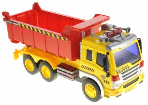 Friction Powered Dump Truck Toy