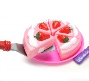 Strawberry Cake Dessert Play Set Toy