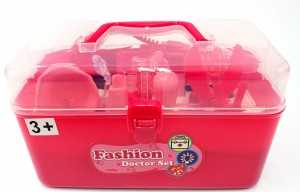 Medical Box Pink Doctor Nurse Medical Kit Playset