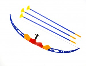Sport Super Toy Bow and Arrow Dart Playset w/ Suction Dart Arrows