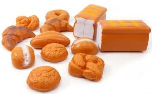 12 Pieces Bread Food Playset