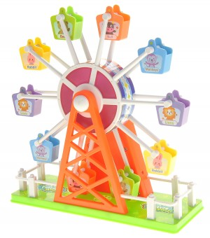 Electronic Ferris Wheel Toy With Music And Lights
