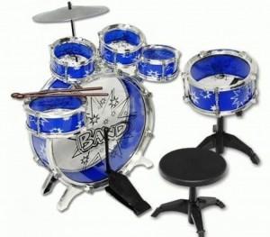 Musical Instrument Drum Playset (Blue)