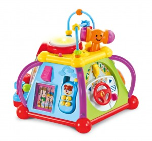 Educational Cube Tot With Musical Activities, Sounds And Lights For Kids