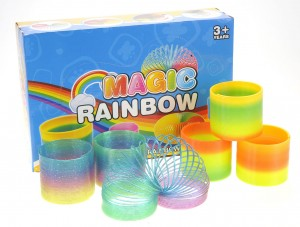 Magic Rainbow Springs Assorted Colors 3""
