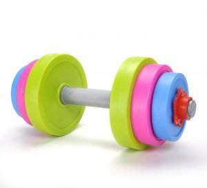 Adjustable Dumbbell Toy Set for Kids