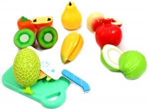 Kitchen Fun Cutting Vegetables Super Food Playset