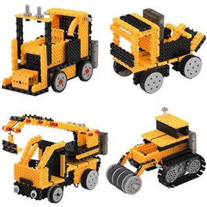 Remote Control Construction Vehicle Building Kit
