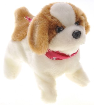 Cute Somersault Little Puppy - Barks, Sits, Walk, and Flips
