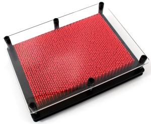 Pin Art (Red)