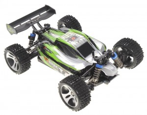 WL A959A 1/18 2.4Gh 4WD Off-Road Buggy Green